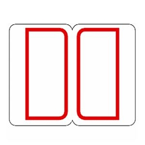 その他 (まとめ) ライオン事務器 インデックスラベル 中23×29mm 赤枠 RM2 1パック(240片:12片×20シート) 【×50セット】 ds-2243934