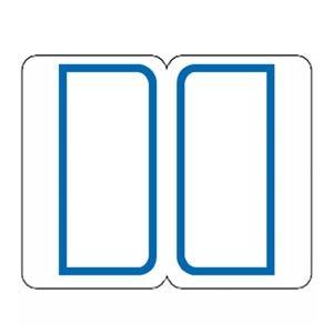 その他 (まとめ) ライオン事務器 インデックスラベル 大27×34mm 青枠 BL1 1パック(180片:9片×20シート) 【×50セット】 ds-2243936