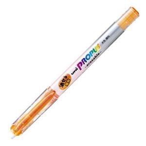 その他 (まとめ) 三菱鉛筆 蛍光ペン プロパス・イレイサブル 橙 PUS151ER.4 1本 【×100セット】 ds-2244371