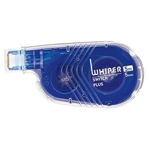 その他 (まとめ) プラス 修正テープホワイパースイッチ(トライアル) 5mm幅×5m ブルー WH-1515-5M 1個 【×100セット】 ds-2244544