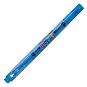 その他 (まとめ) 三菱鉛筆 蛍光ペン プロパス・ウインドウスカイブルー PUS102T.48 1本 【×100セット】 ds-2244813