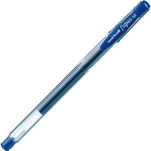その他 (まとめ) 三菱鉛筆 ゲルインクボールペン ユニボール シグノ エコライター 0.5mm 青 UM100EW.33 1本 【×100セット】 ds-2244922