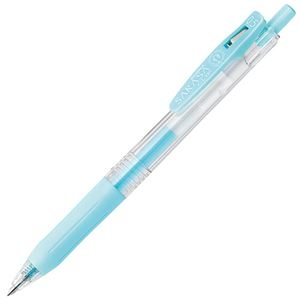 その他 (まとめ) ゼブラ ゲルインクボールペン サラサクリップ 0.5mm ミルクブルー JJ15-MKBL 1本 【×100セット】 ds-2244972