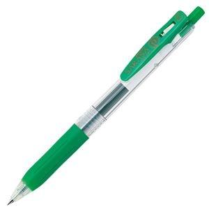 その他 (まとめ) ゼブラ ゲルインクボールペン サラサクリップ 0.3mm 緑 JJH15-G 1本 【×100セット】 ds-2245006