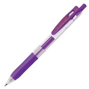 その他 (まとめ) ゼブラ ゲルインクボールペン サラサクリップ 0.3mm 紫 JJH15-PU 1本 【×100セット】 ds-2245010