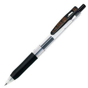 その他 (まとめ) ゼブラ ゲルインクボールペン サラサクリップ 0.3mm 黒 JJH15-BK 1本 【×100セット】 ds-2245011
