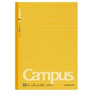 その他 (まとめ) コクヨキャンパスノート(ドット入り罫線・カラー表紙) セミB5 B罫 30枚 黄 ノ-3CBT-Y 1冊 【×100セット】 ds-2245326