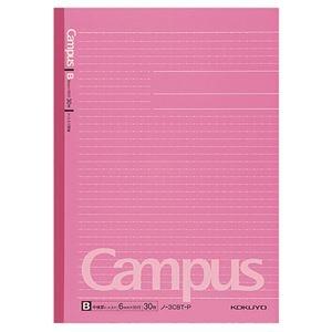 その他 (まとめ) コクヨキャンパスノート(ドット入り罫線・カラー表紙) セミB5 B罫 30枚 ピンク ノ-3CBT-P 1冊 【×100セット】 ds-2245336