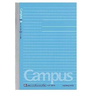 その他 (まとめ) コクヨキャンパスノート(ドット入り罫線) B6 B罫 40枚 ノ-211BTN 1冊 【×100セット】 ds-2245346