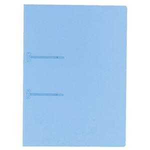 その他 (まとめ) コクヨ ファスナーファイル(クリヤーカラー) A4タテ 2穴 90枚収容 青 フ-P170B 1冊 【×100セット】 ds-2245424