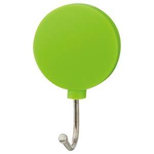 その他 (まとめ) TANOSEE カラーマグネットフック スイング 耐荷重約1kg 緑 1個 【×100セット】 ds-2245584