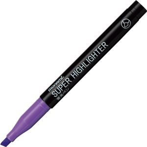 その他 (まとめ) モナミ 蛍光ペン SUPERHIGHLIGHTER 紫 18406 1本 【×300セット】 ds-2245834
