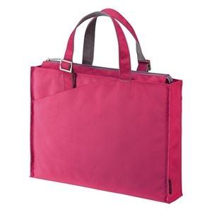 その他 (まとめ) サンワサプライ カジュアルPCバッグ16.4型ワイド対応 ピンク BAG-CA4P 1個 【×5セット】 ds-2220311