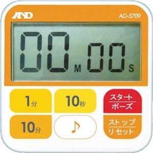 その他 (まとめ) A&D 防水型厨房タイマー(100分計) AD5709 1個 【×5セット】 ds-2220922