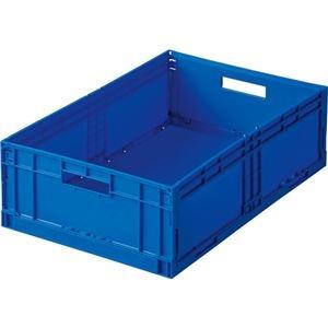 その他 (まとめ) 岐阜プラスチック工業 折りたたみコンテナ F-BOX 26L F-BOX122G1 1台 【×5セット】 ds-2221118
