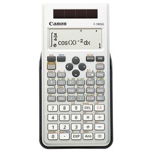 その他 (まとめ) キヤノン Canon 関数電卓 F-789SG-SL SOB 20桁 教科書ビュー 445関数 19メモリ ホワイト 6952B001 1台 【×5セット】 ds-2221142