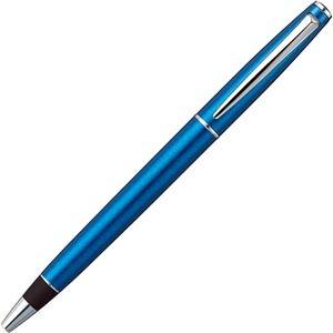 その他 (まとめ) 三菱鉛筆 ジェットストリーム プライム回転繰り出し式シングルボールペン 0.38mm 黒 (軸色:ブライトブルー) SXK300038B.33 1本 【×5セット】 ds-2221205