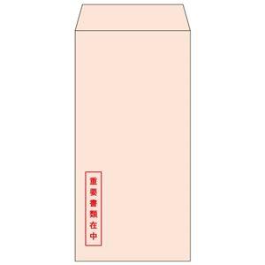 その他 (まとめ) ヒサゴ 透けない封筒 長形6号 ピンク重要書類在中 MF61N 1パック(100枚) 【×5セット】 ds-2221334