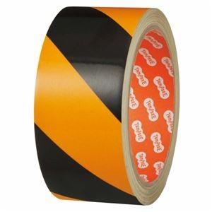 その他 (まとめ) TANOSEE 危険表示反射テープ 45mm×10m 1巻 【×5セット】 ds-2221383