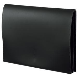 その他 (まとめ) プロッシモ リサイクルレザー スリムレザーケース A4 ブラック PRORSCA4BK 1冊 【×5セット】 ds-2221565