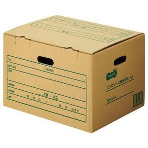 その他 (まとめ) TANOSEE 文書保存箱 A4用 内寸:W416×D320×H264mm 1パック(10個) 【×5セット】 ds-2221633