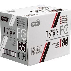 その他 (まとめ) TANOSEE αエコペーパータイプFC B5 標準 80g 1セット(2000枚:250枚×8冊) 【×5セット】 ds-2222179