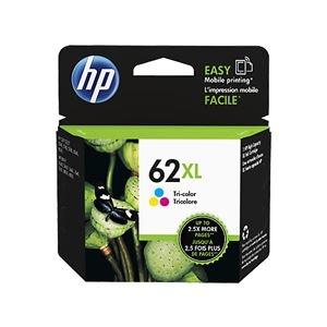 その他 (まとめ) HP HP62XL インクカートリッジカラー 増量 C2P07AA 1個 【×5セット】 ds-2222609