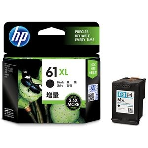 その他 (まとめ) HP HP61XL インクカートリッジ黒 増量 CH563WA 1個 【×5セット】 ds-2222615