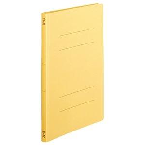 その他 (まとめ) TANOSEE フラットファイル(スタンダードカラー) A4タテ 150枚収容 背幅18mm 黄 1セット(100冊:10冊×10パック) 【×5セット】 ds-2223053