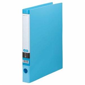 その他 (まとめ) TANOSEE Oリングファイル A4タテ 2穴 170枚収容 背幅35mm ライトブルー 1セット(10冊) 【×5セット】 ds-2223142