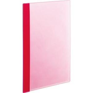 その他 (まとめ) TANOSEE薄型クリアブック(角まる) A4タテ 5ポケット ピンク 1セット(50冊:5冊×10パック) 【×5セット】 ds-2223188