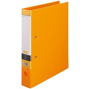 その他 (まとめ) TANOSEE DリングファイルA4タテ 2穴 350枚収容 背幅53mm オレンジ 1セット(10冊) 【×5セット】 ds-2223295