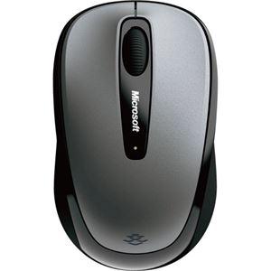 その他 (まとめ) マイクロソフト ワイヤレス モバイルマウス 3500 ユーロシルバー GMF-00423 1個 【×10セット】 ds-2223877