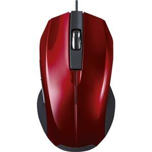 その他 (まとめ) サンワサプライ静音有線ブルーLEDマウス レッド MA-BL10R 1個 【×10セット】 ds-2223903