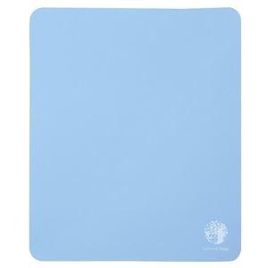 その他 (まとめ) サンワサプライ ベーシックマウスパッド natural base ブルー MPD-OP54BL 1セット(5枚) 【×10セット】 ds-2223927