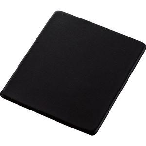 その他 (まとめ) エレコム ソフトレザーマウスパッドブラック MP-SL01BK 1枚 【×10セット】 ds-2223996