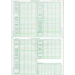 その他 東京ビジネス 合計残高試算表 (一般・科目印刷・消費税無) 平成18年会社法対応 CG1006OZU2 1冊(50セット) 【×10セット】 ds-2224635
