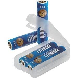 その他 (まとめ) ASP 単4リチウム乾電池 530341パック(4本) 【×10セット】 ds-2225181