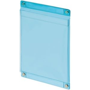 その他 (まとめ) ライオン事務器 マグネットポケットソフトタイプ A5 W168×D11×H250mm 透明ブルー MP-C5 1個 【×10セット】 ds-2225569