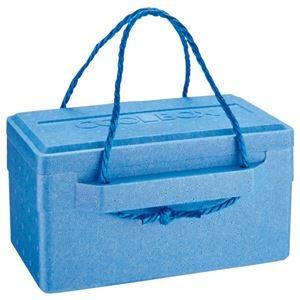 その他 (まとめ) 石山 発泡クールボックス 9.4L ブルー TI-100P 1個 【×10セット】 ds-2225572