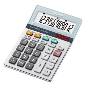 その他 (まとめ) シャープ エルシーメイト電卓 12桁ミニナイスサイズ EL-M712K-X 1台 【×10セット】 ds-2225685