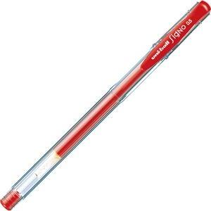 その他 (まとめ) 三菱鉛筆 ゲルインクボールペンユニボール シグノ エコライター 0.5mm 赤 UM100EW.15 1セット(10本) 【×10セット】 ds-2226352