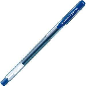 その他 (まとめ) 三菱鉛筆 ゲルインクボールペンユニボール シグノ エコライター 0.5mm 青 UM100EW.33 1セット(10本) 【×10セット】 ds-2226353