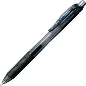 その他 (まとめ) ぺんてる ゲルインキボールペンエナージェル・エックス 0.3mm 黒 BLN103-A 1セット(10本) 【×10セット】 ds-2226411