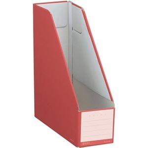 その他 (まとめ) コクヨ ファイルボックス(NEOS)スタンドタイプ A4タテ 背幅102mm カーマインレッド フ-NEL450R 1セット(10冊) 【×10セット】 ds-2226712