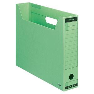 その他 (まとめ) コクヨファイルボックス-FS(Bタイプ) B4ヨコ 背幅75mm 緑 B4-SFBN-G 1セット(5冊) 【×10セット】 ds-2226747