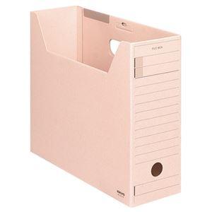 その他 (まとめ) コクヨファイルボックス-FS(ミックスペーパー) A4ヨコ 背幅102mm ピンク フタ付 A4-LFJ-P1セット(5冊) 【×10セット】 ds-2226749