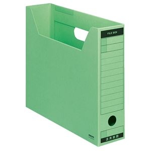 その他 (まとめ) コクヨファイルボックス-FS(Bタイプ) A4ヨコ 背幅75mm 緑 A4-SFBN-G 1セット(5冊) 【×10セット】 ds-2226778