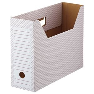 その他 (まとめ) TANOSEE ボックスファイル(ホワイト) A4ヨコ 背幅100mm レッド 1パック(10冊) 【×10セット】 ds-2226833