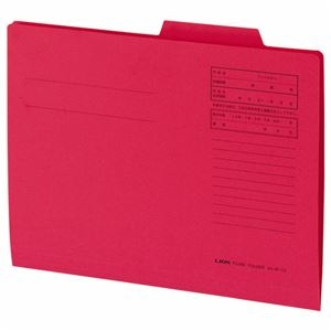 その他 (まとめ) ライオン事務器 重要案件フォルダー A4赤 A4-IF-A 1パック(10冊) 【×10セット】 ds-2226858
